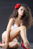 Sexy young woman Stock Image