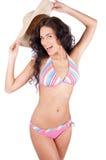 Sexy young woman in bikini Stock Images