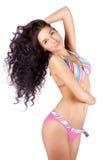 young woman in bikini Stock Images
