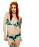 Sexy Young Woman in a Bikini Stock Photos