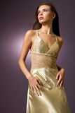 Sexy young woman with fashionable dress Royalty Free Stock Photo