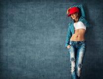 Sexy young woman Stock Photos
