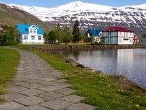 Seyðisfjörður in Iceland Stock Images