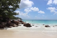 Seychellen, Afrika Lizenzfreie Stockbilder