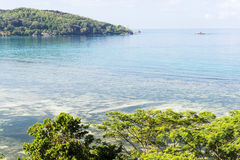 Seychellen, eiland Mahe Royalty-vrije Stock Afbeeldingen