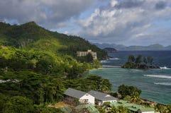 Seychellen, eiland Mahe Royalty-vrije Stock Foto