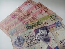 Seychellen-Geld Stockfotografie