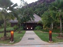 Seychellen-Insel-Feiertage - Urlaubsziele Lizenzfreie Stockfotos