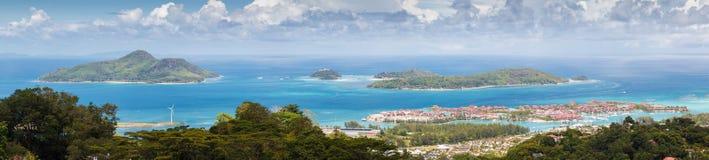 Seychellen, Mahe-Insel Stockbilder