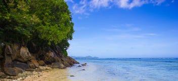 Seychellen-Meer lizenzfreie stockbilder
