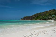 seychellen Schöner Anse Volbert Beach Lizenzfreies Stockfoto