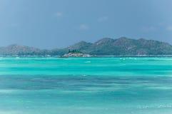 seychellen Schöner Anse Volbert Beach Lizenzfreie Stockbilder