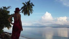 Seychellen-Sommerferien stock video footage