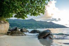 Seychellerna 20 Arkivfoto