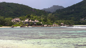 Seychellerna Baie Lazare Royaltyfri Bild
