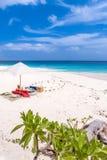 Seychellerna paradisstrand La Digue på Anse Lazio, källd'A arkivbilder