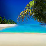 The Seychelles. Postcard from The Seychelles - Exotic Holiday Destination Stock Image