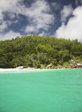 Seychelles. An unbeliveable colour mix at Seychelles, Africa Royalty Free Stock Images