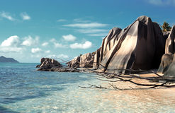 Seychelles Stock Photo