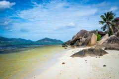 Seychelles, Anse Source d`argent Royalty Free Stock Photos
