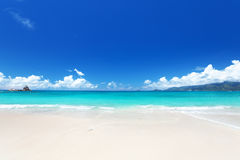Seychelles beach Royalty Free Stock Images