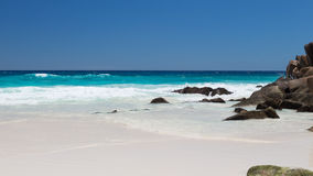 Seychelles beach Stock Photography