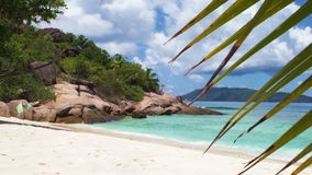 Seychelles beach stock video