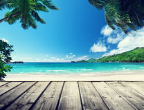 Seychelles beach Royalty Free Stock Photography