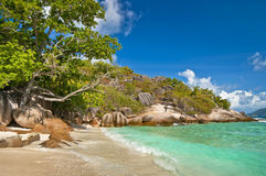 Seychelles beaches Royalty Free Stock Images