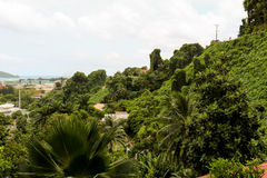 Seychelles capital Victoria, Mahe Stock Photography