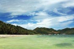Seychelles. Console de Praslin foto de stock royalty free