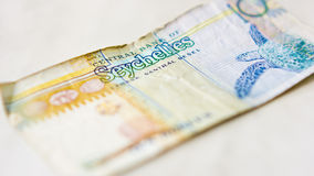 Seychelles currency Stock Photo