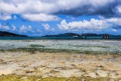 Seychelles Felicite Island Beach imagem de stock royalty free