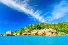 Seychelles Felicite Island foto de stock royalty free