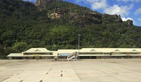 Seychelles International Airport on the Mahe Royalty Free Stock Photos