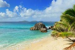 Seychelles island, La Digue Royalty Free Stock Images