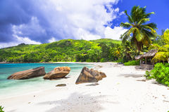 Seychelles island - tropical paradise Royalty Free Stock Photos