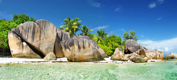 Seychelles, La digue Stock Images