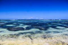 Seychelles La Digue Anse Source d`Argent beach stock image