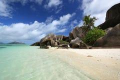 Seychelles. La Digue island. Stock Image