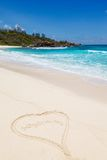 Seychelles, La Digue island Stock Photos