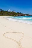 Seychelles, La Digue island Royalty Free Stock Photo