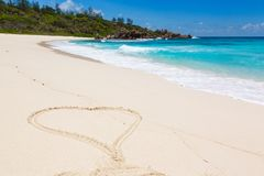 Seychelles, La Digue island Royalty Free Stock Photography