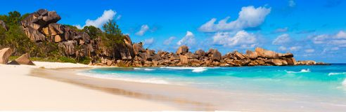Seychelles, La Digue island Stock Photography