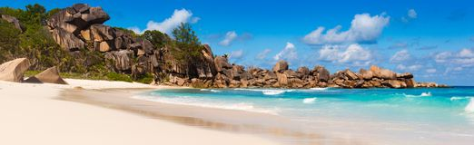 Seychelles, La Digue island Royalty Free Stock Photo