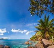 Seychelles, La Digue island Royalty Free Stock Image