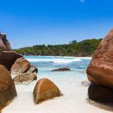 Seychelles, La Digue island Royalty Free Stock Images