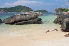 Seychelles, Mahe, Port Glod, gulf Anse Islette Royalty Free Stock Image