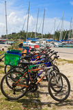 Bikes in Seychelles Royalty Free Stock Images
