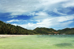 Seychelles. Praslin island Royalty Free Stock Photo